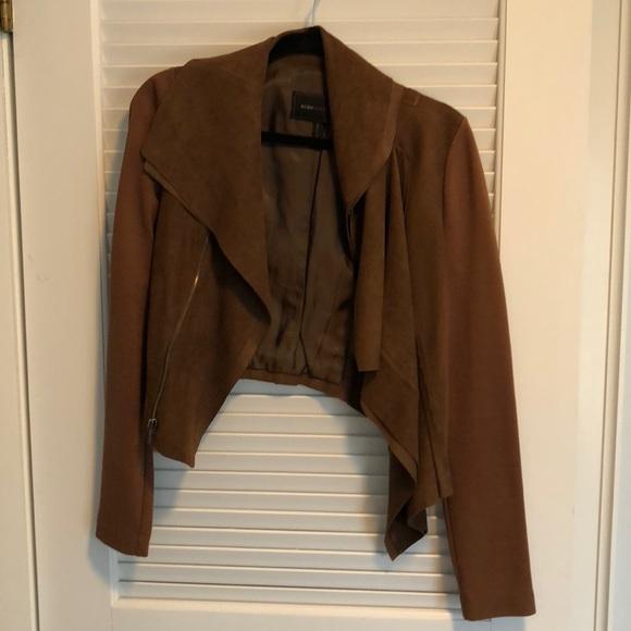 BCBGMaxAzria Jackets & Blazers - Brown cropped bcbg jacket